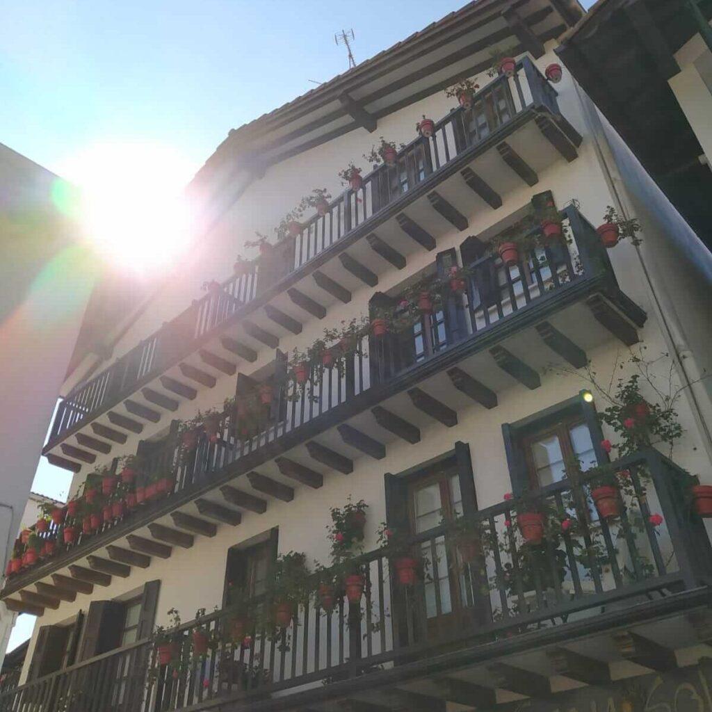 Casa barrio de Santa Marina Hondarribia