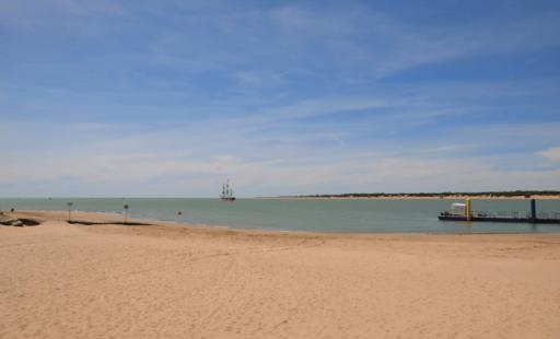 Playa de bajo guia sanlucar de barrameda