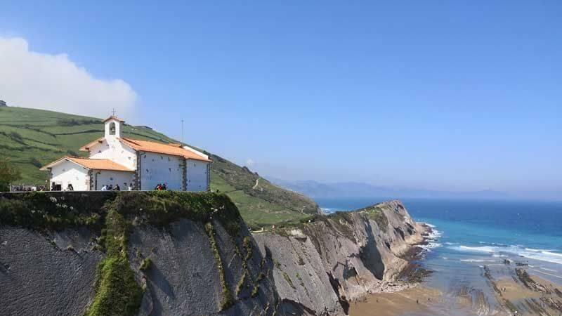 ermita de san telmo zumaia gipuzkoa