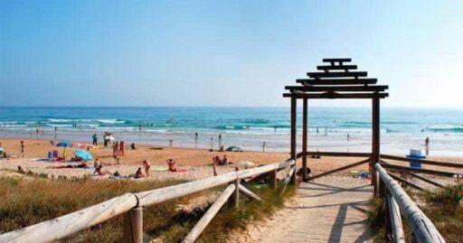 playa de el palmar cadiz andalucia